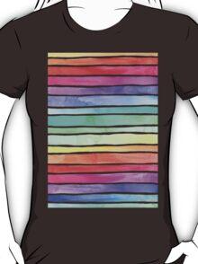 Ever So Bright Rainbow Stripes T-Shirt