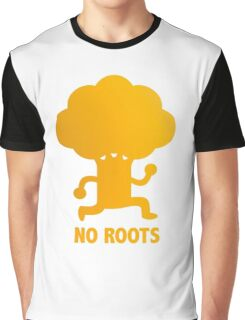 NO ROOTS Graphic T-Shirt