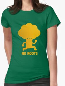 NO ROOTS Womens Fitted T-Shirt