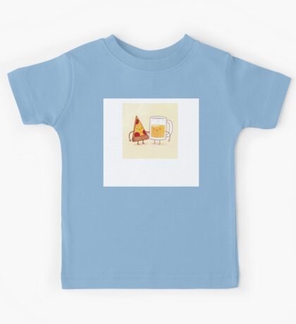 Pizza And Beer! Kids Tee