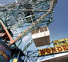 Ferris Wheel at Coney Island by Reinvention