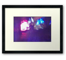 The Light Is The Art 07 Framed Print