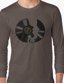 Vinyl Profile Long Sleeve T-Shirt