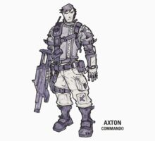 Borderlands 2 - Axton Commando by PippoNoise