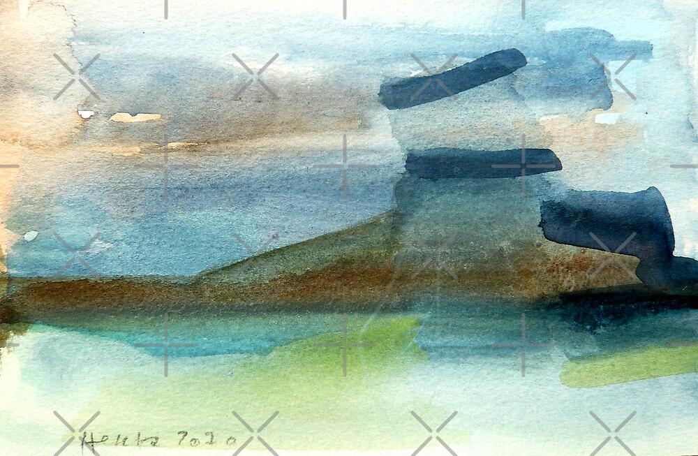 Water land by Hekla Hekla