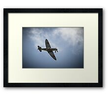 The Spitfire from The Battle of Britain Memorial Flight Framed Print