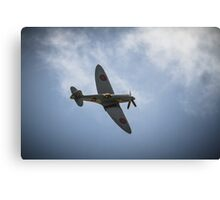 The Spitfire from The Battle of Britain Memorial Flight Canvas Print