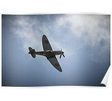 The Spitfire from The Battle of Britain Memorial Flight Poster