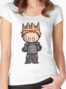 Alistair chibi Women's Fitted Scoop T-Shirt
