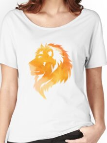 aquarell lion  Women's Relaxed Fit T-Shirt
