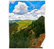 """""""View from LionsHead Trail"""" Minturn, Colorado"""" Poster"""