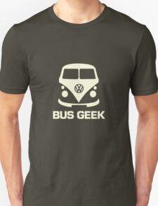 Bus Geek Cream Unisex T-Shirt