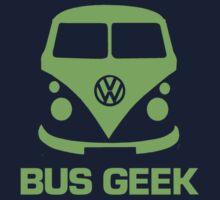 Bus Geek Green Kids Clothes