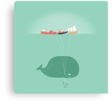 Whale Balloons Canvas Print
