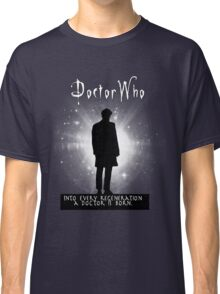 Into every regeneration a Doctor is born Classic T-Shirt