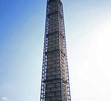 Washington Needle - Under Construction  by Brendan McFater