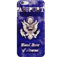 Passport To Travel iPhone Case/Skin