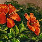 Hibiscus Garden by Michael Beckett