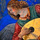 Musical Angel Basking in the Light of Heaven 3 by Nigel Fletcher-Jones