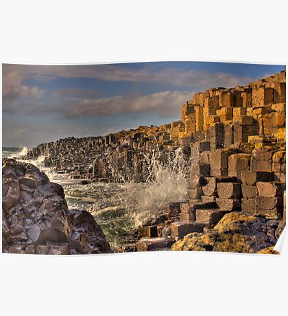 Giants Causeway  Poster