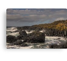 Giants Causeway a World Heritage Site Canvas Print