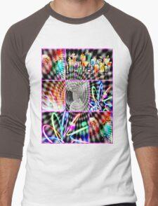 hypnotic love Men's Baseball ¾ T-Shirt