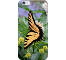 Yellow Monarch Butterfly - phone skin iPhone Case/Skin