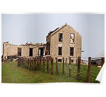 Abandoned Kansas Farm House Poster