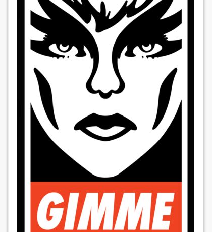 Gimme Pizzazz Sticker