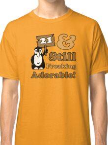 Cute 21st Birthday Gift For Women Classic T-Shirt