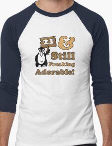 Cute 21st Birthday Gift For Women Men's Baseball ¾ T-Shirt