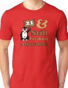 Cute 21st Birthday Gift For Women Unisex T-Shirt