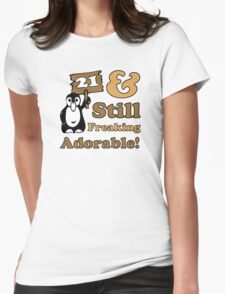 Cute 21st Birthday Gift For Women T-Shirt