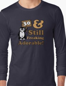 Cute 30th Birthday Gift For Women Long Sleeve T-Shirt