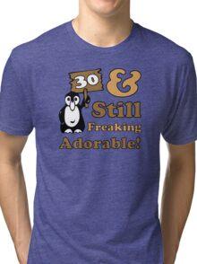 Cute 30th Birthday Gift For Women Tri-blend T-Shirt