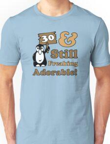 Cute 30th Birthday Gift For Women Unisex T-Shirt