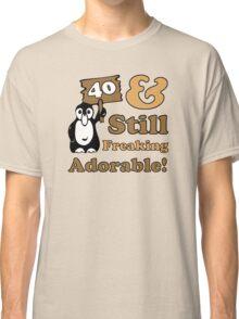 Cute 40th Birthday Gift For Women Classic T-Shirt