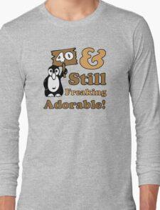 Cute 40th Birthday Gift For Women Long Sleeve T-Shirt
