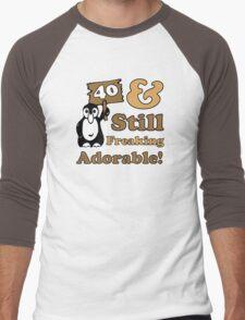 Cute 40th Birthday Gift For Women Men's Baseball ¾ T-Shirt