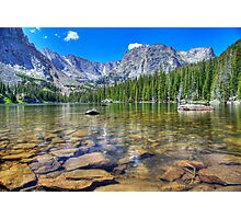 Loch Lake, Rocky Mountain National Park Photographic Print