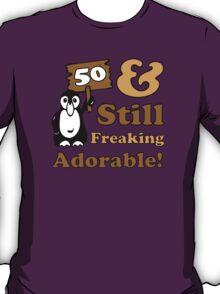 Cute 50th Birthday Gift For Women T-Shirt