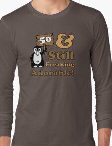 Cute 50th Birthday Gift For Women Long Sleeve T-Shirt