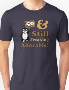 Cute 50th Birthday Gift For Women Unisex T-Shirt