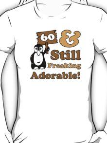 Cute 60th Birthday Gift For Women T-Shirt