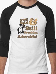 Cute 65th Birthday Gift For Women Men's Baseball ¾ T-Shirt