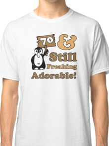 Cute 70th Birthday Gift For Women Classic T-Shirt