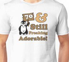 Cute 70th Birthday Gift For Women Unisex T-Shirt
