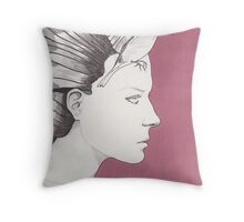 Waiting for the World Throw Pillow