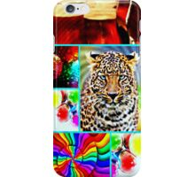 cougar party iPhone Case/Skin