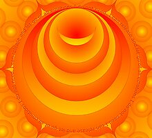 Sacral Chakra Svadhisthana Orange Colour Ray by shoffman